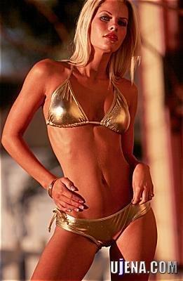 Swimsuits Ujena's Sin City Metallic Bikini Swimwear M