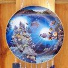 Ocean Scene China Plate Windchime