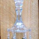 Vintage Glass Candlestick Windchime