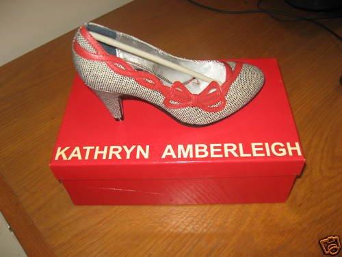 Kathryn Amberleigh Nolita Black & Red Dress Shoes