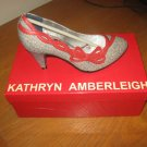 Kathryn Amberleigh Nolita Black & Red Dress Shoes