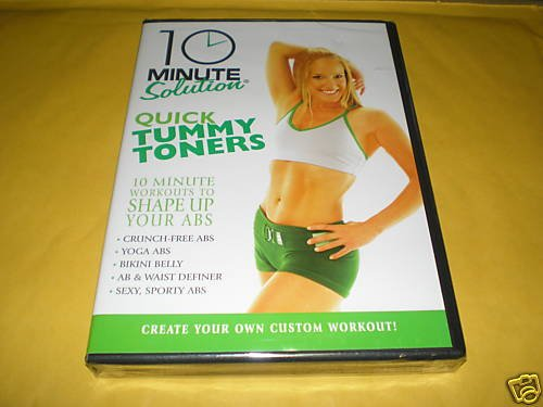 10 Minute Solution: Quick Tummy Toners Exercise Video