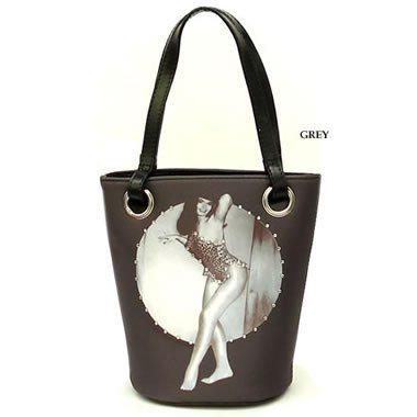 NWT Bettie Page Small Bucket Bag