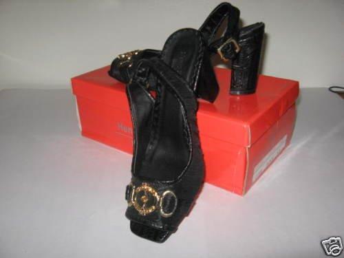 Henry Ferrera New York Rosie Black Size 6.5 Dress Shoes