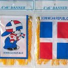 DOMINICAN REPUBLIC BOY MINI BANNER