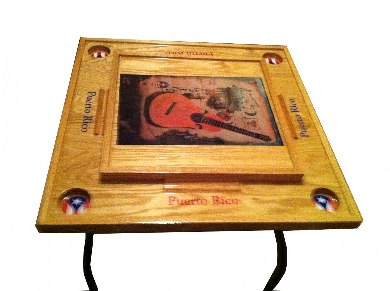 Puerto Rico Domino Table Cuatro Instrument