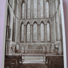 New The Lady Chapel. Worcester Cathedral Black and White Real Photo Postcard