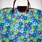 Muti Colour Flower Shopping Bag