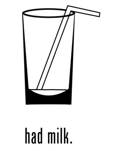 Had Milk w/ straw (Hoodie)