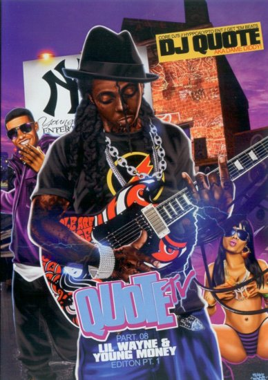 DVD VIDEO MIXTAPE 08 � LIL WAYNE & YOUNG MONEY