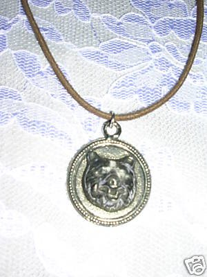 LARGE BEAR HEAD MOUNT SOLID SILVER PEWTER PENDANT ADJ WILDLIFE NECKLACE
