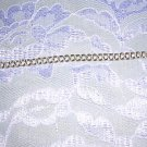 "925 STERLING SILVER DOUBLE LINK CHAIN BRACELET 7"" ADD CHARMS"