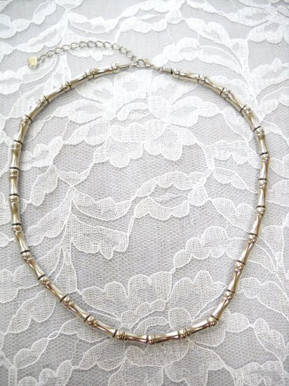 METAL TUBE BEADS & SPACER BEADS URBAN WEAR NECKLACE JEWELRY