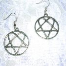 LOVE HEAVY METAL MOVEMENT VILLE VALO HIM HEARTAGRAM FULL PENDANT SIZE EARRINGS