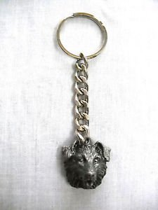 NEW BORDER COLLIE BREED WORKING DOGS THICK HEAVY METAL KEY RING / KEY CHAIN