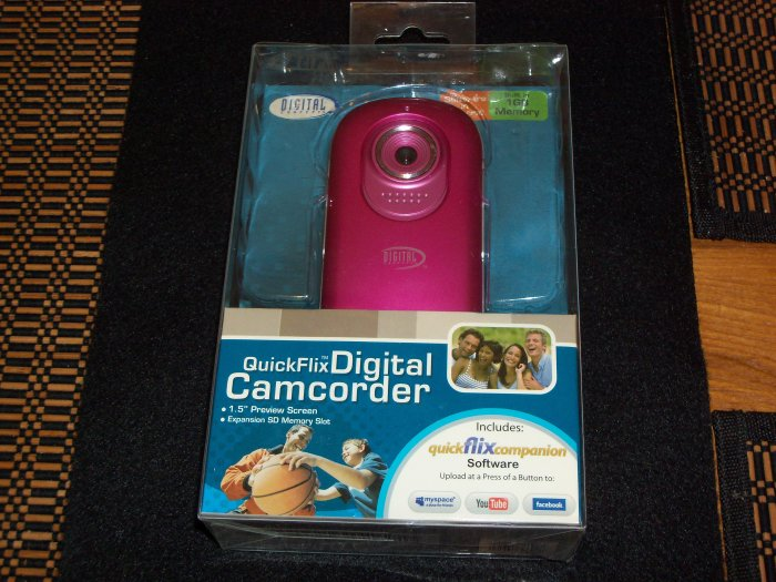 QuickFlix Digital Camcorder