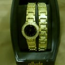 Allude women's watch and bracelet set