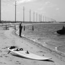 Wind Surfing In the OBX-20x30