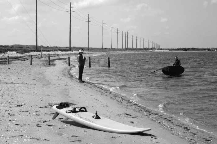 Wind Surfing In the OBX-8x12