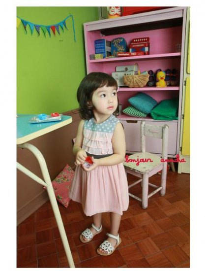 girls pink dress 3T 4T NEW
