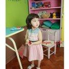 girls pink dress 3T 4T NEW