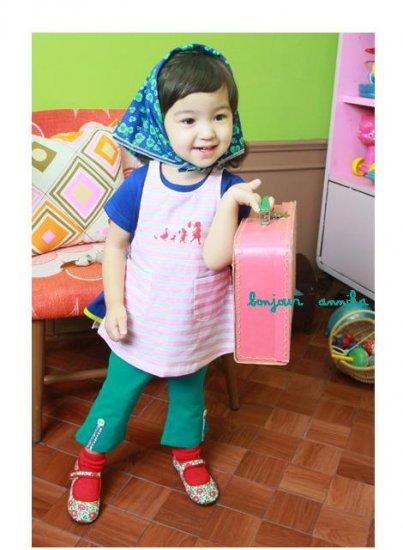 girls PINK sleeveless stripe t shirt 2T,3T,4T, 6 NEW