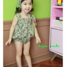 girls mint vintage swimsuit 3T, 4T NEW