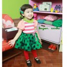 girls green skirt 2T,3T,4T,6 NEW