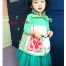 girls green ballerina skirt 2T,3T,4T,6 NEW