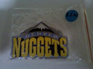 Denver Nuggets Belt Buckle