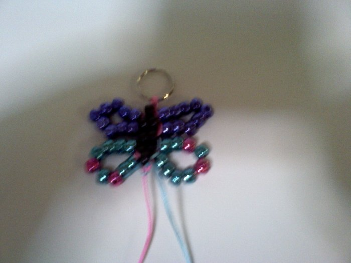 butter fly Key chain
