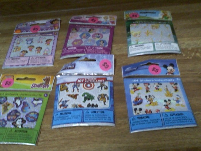 Disney Mickey and friends stickers