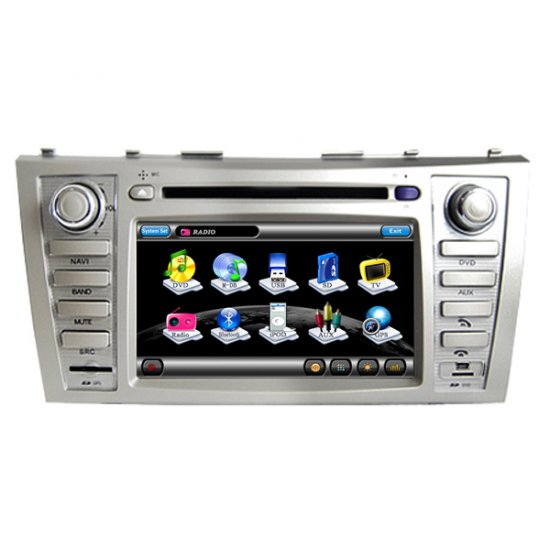 Toyota Camry 2007 - 2010 Car GPS Navigation DVD Player,Radio,TV