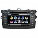 2007-2010 Toyota Corolla GPS Navigation DVD Player with Digital screen,RDS