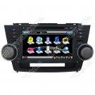 Toyota Highlander 2008 - 2010 GPS Navigation DVD Player,Radio,TV