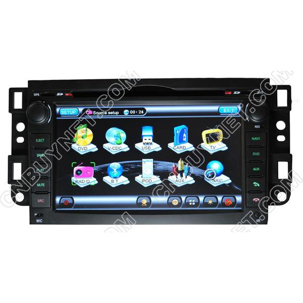 Chevrolet Captiva GPS Navigation DVD Player,Radio,TV