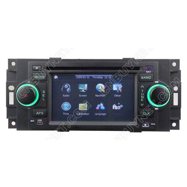 CHRYSLER PT Cruiser Navigation GPS DVD player, Radio