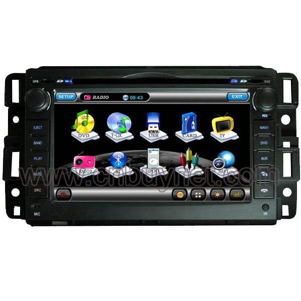 Chevrolet Impala 2006- 2009 Navigation GPS DVD Player, Radio, Ca
