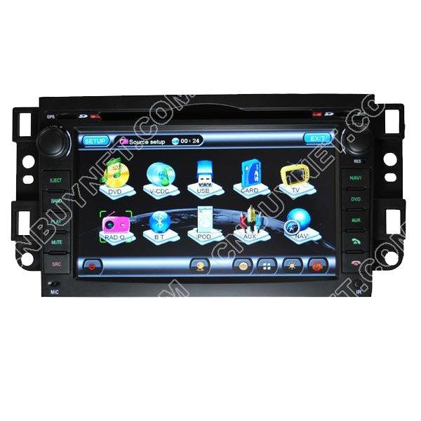 Chevrolet Kalos GPS Navigation DVD Player,Radio,TV