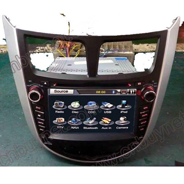 2010-2011 Hyundai Verna GPS Navigation DVD Player, Radio,Ipod