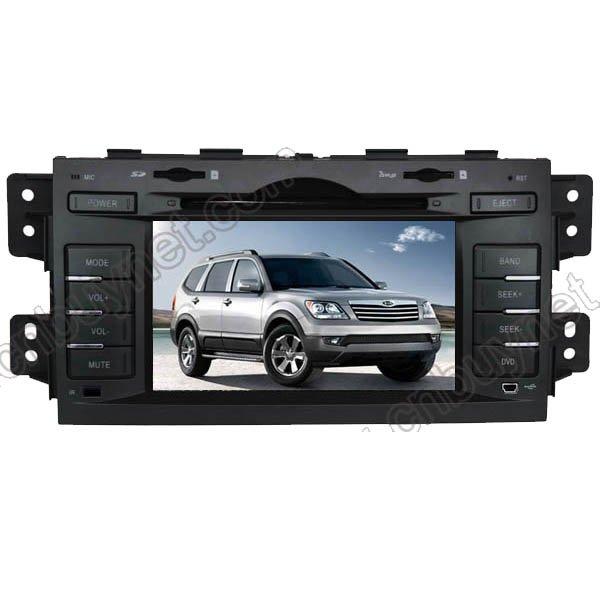 2009-2010 KIA Borrego GPS Navigation DVD Players, Radio, Ipod