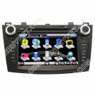 2010 Mazda 3 DVD GPS player with Canbus Steering Wheel Control