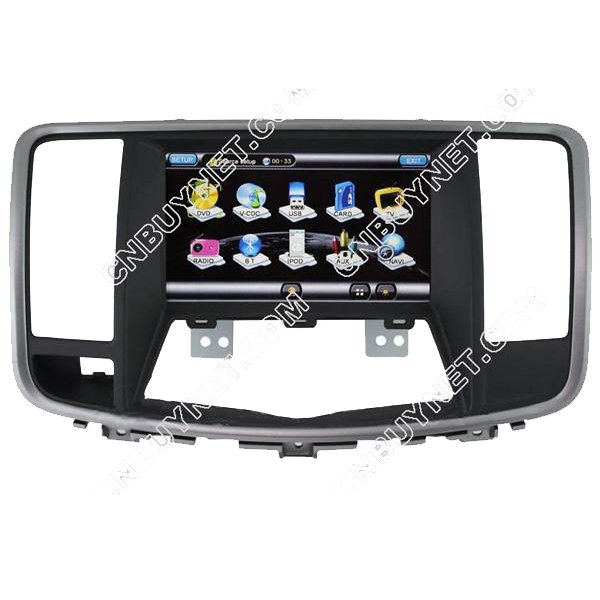 Nissan Teana 2009 - 2011 GPS Navigation DVD Player ,TV,Canbus bo