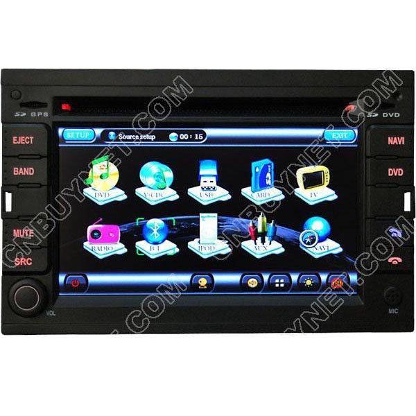 Peugeot 3008 GPS Navigation DVD Player ,TV,radio,bluetooth