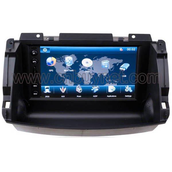 Renault Koleos 2010, 2011 GPS Navigation DVD player, Radio, Ipod