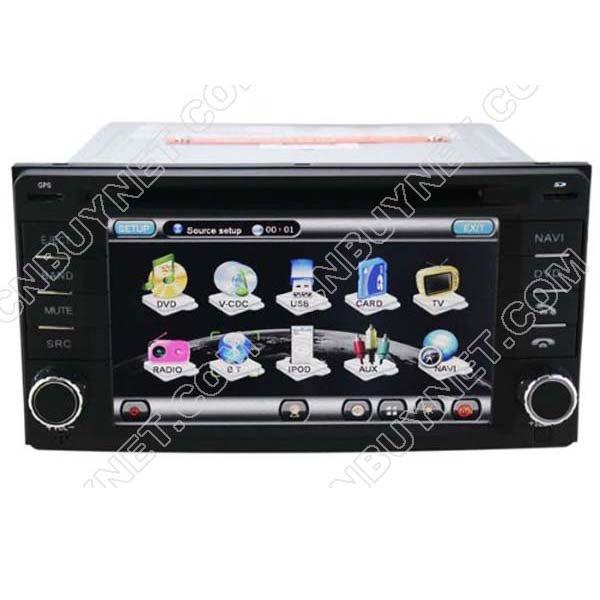 Subaru Forester 2008 - 2011 GPS Navigation DVD Player , radio