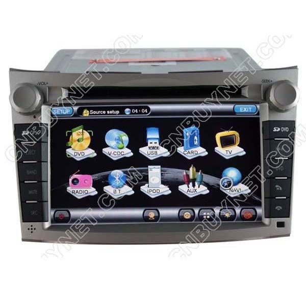 Subaru Outback 2009 - 2011 Radio Navigation DVD Player ,TV