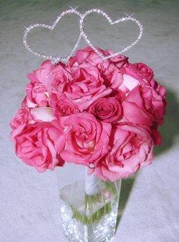 Crystal Heart Bouquet Jewelry BQ-221-Heart Pick