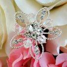Crystal Bouquet Picks BQ 214 Silver or Gold