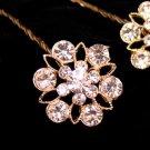 Gold Crystal Bouquet Jewelry BQ 211